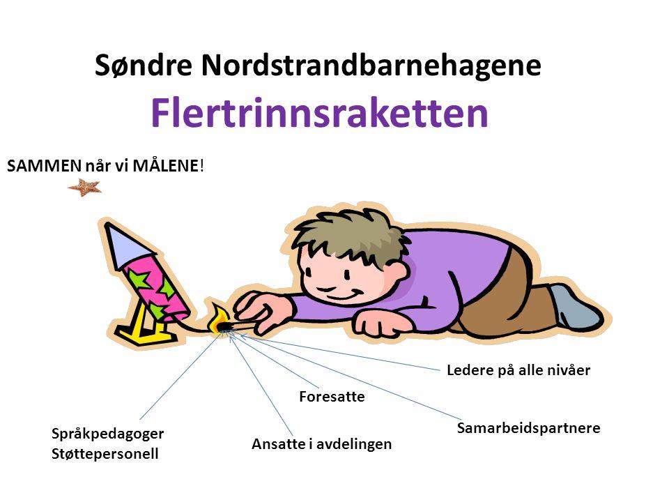 Søndre Nordstrandbarnehagene Flertrinnsraketten