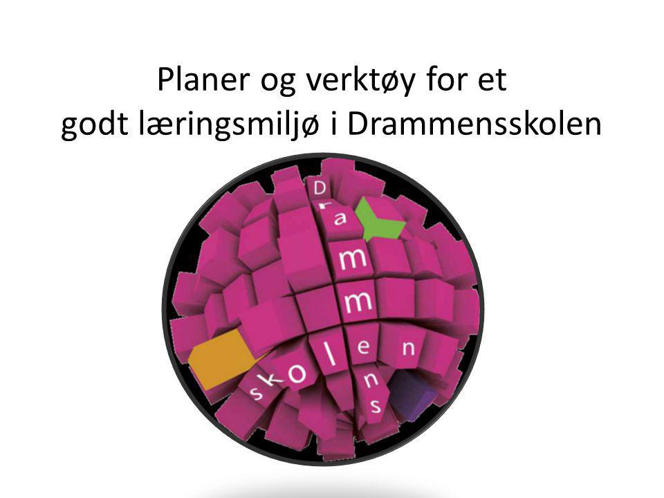 Planer og verktøy for et godt læringsmiljø i Drammensskolen
