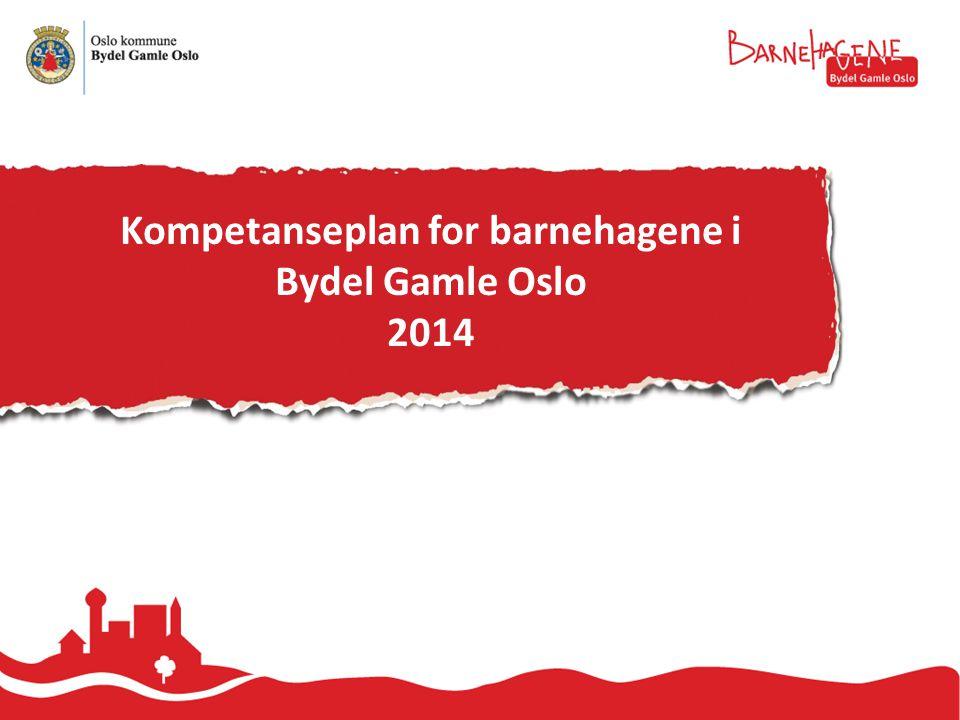 Kompetanseplan for barnehagene i Bydel Gamle Oslo 2014