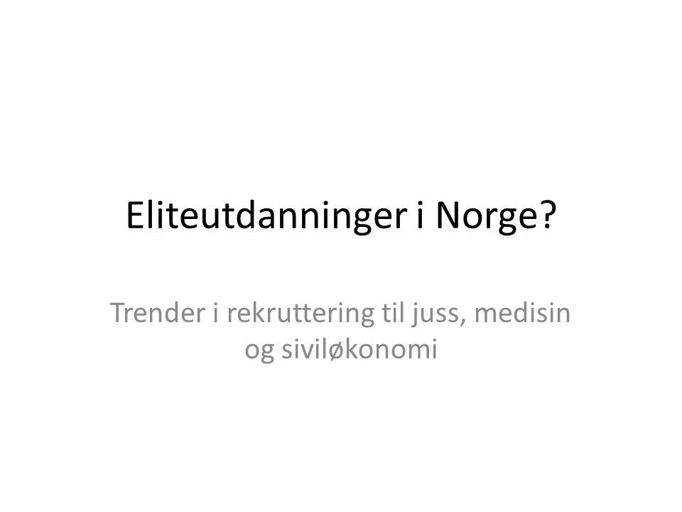 Eliteutdanninger i Norge