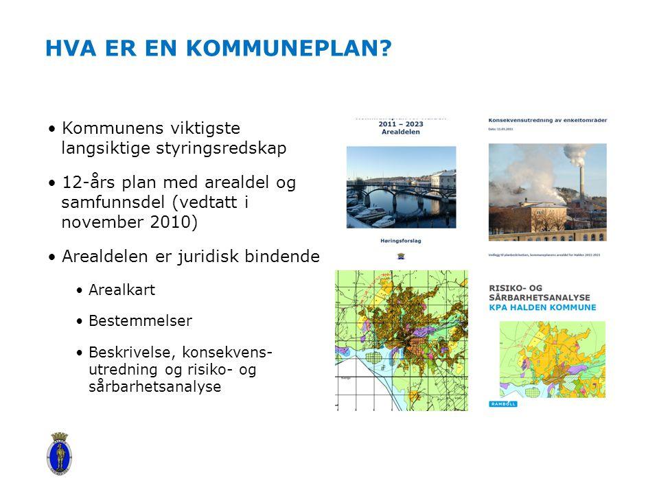 Hva er en kommuneplan Kommunens viktigste langsiktige styringsredskap
