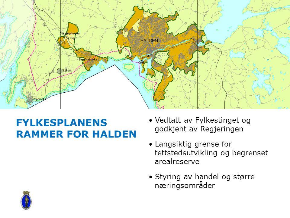 Fylkesplanens rammer for Halden