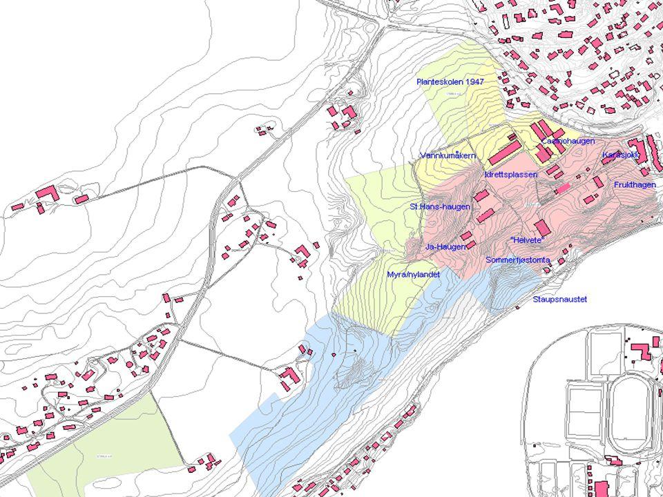 STAUP Eiendomsareal: 260 mål Bygningsareal : 6785 m2 gulvflate