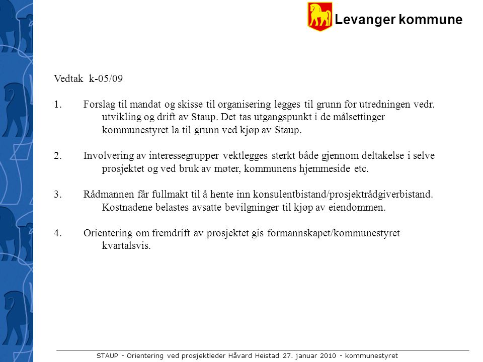 Vedtak k-05/09