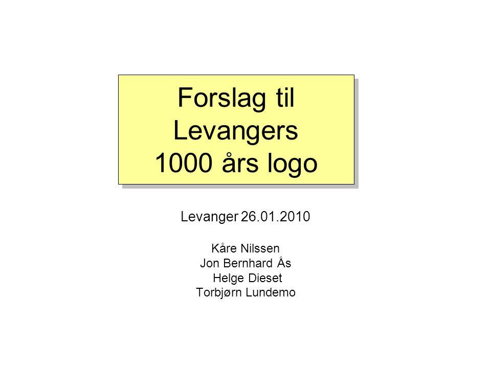 Forslag til Levangers 1000 års logo