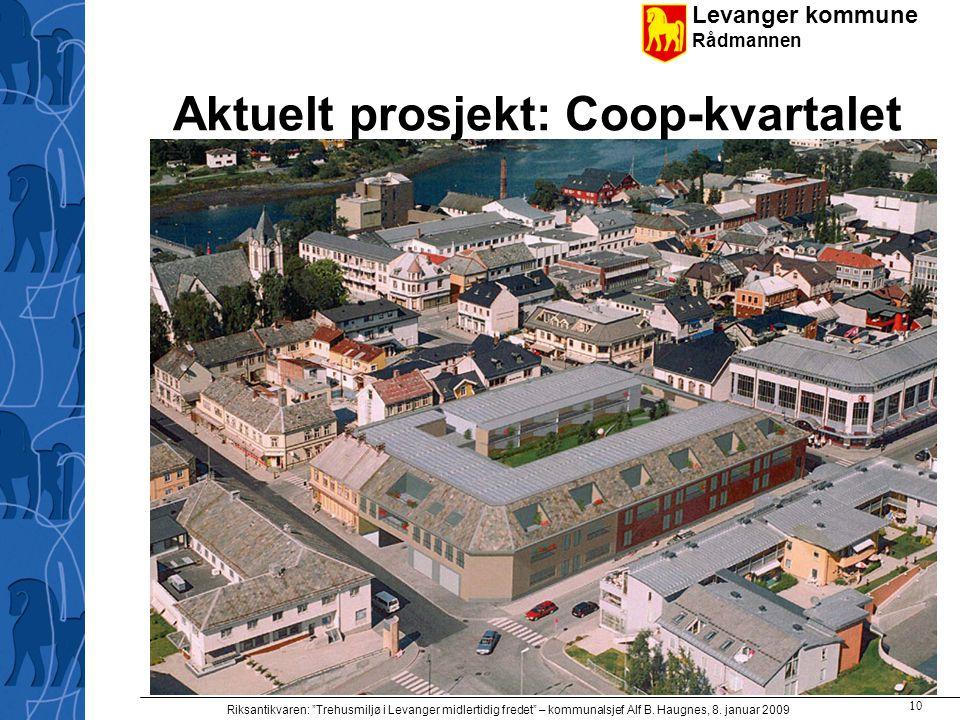 Aktuelt prosjekt: Coop-kvartalet