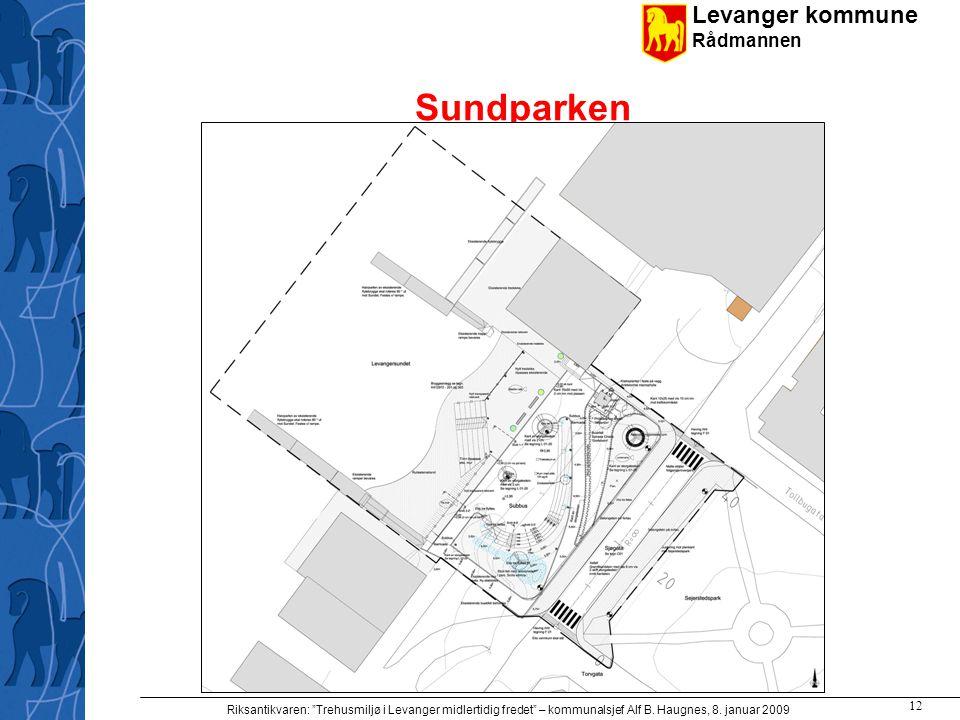 Sundparken Riksantikvaren: Trehusmiljø i Levanger midlertidig fredet – kommunalsjef Alf B.