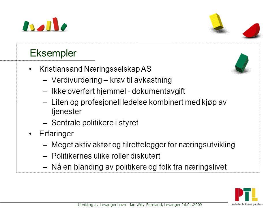 Eksempler Kristiansand Næringsselskap AS