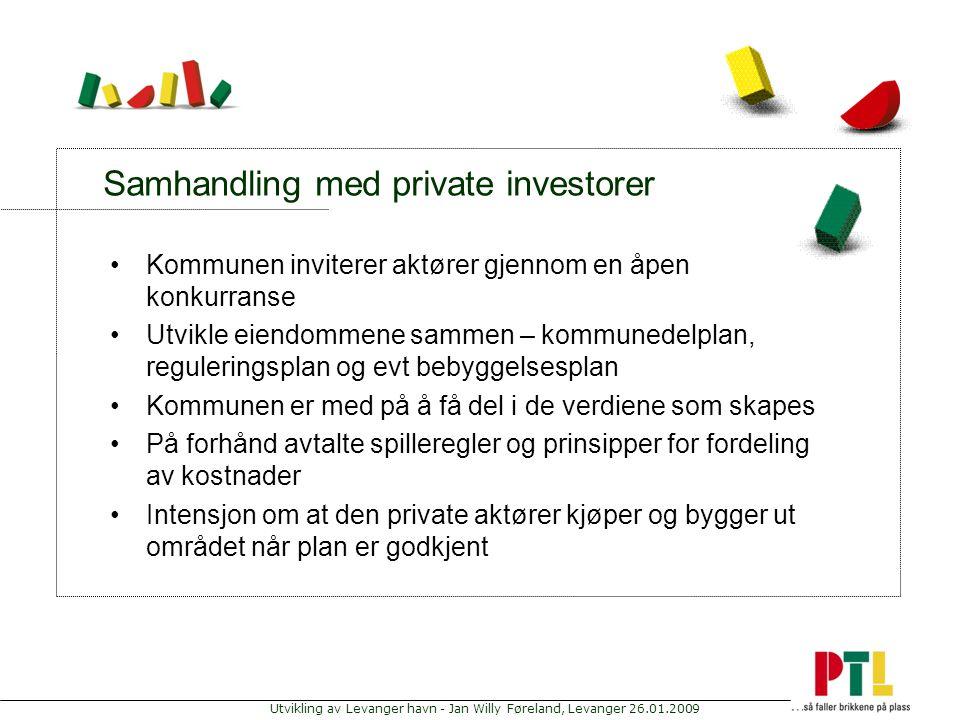 Samhandling med private investorer