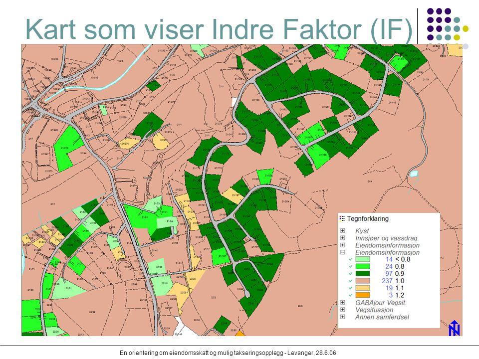 Kart som viser Indre Faktor (IF)