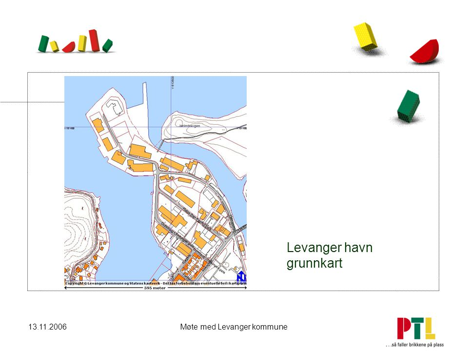 Levanger havn grunnkart
