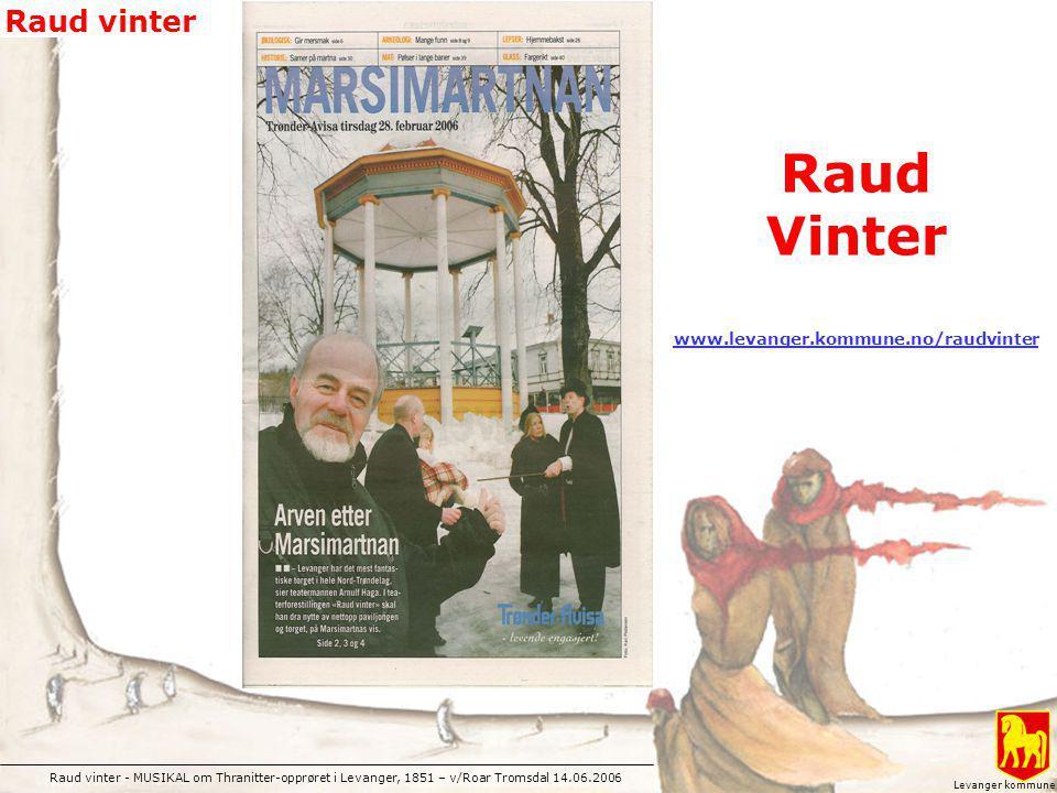 Raud Vinter www.levanger.kommune.no/raudvinter