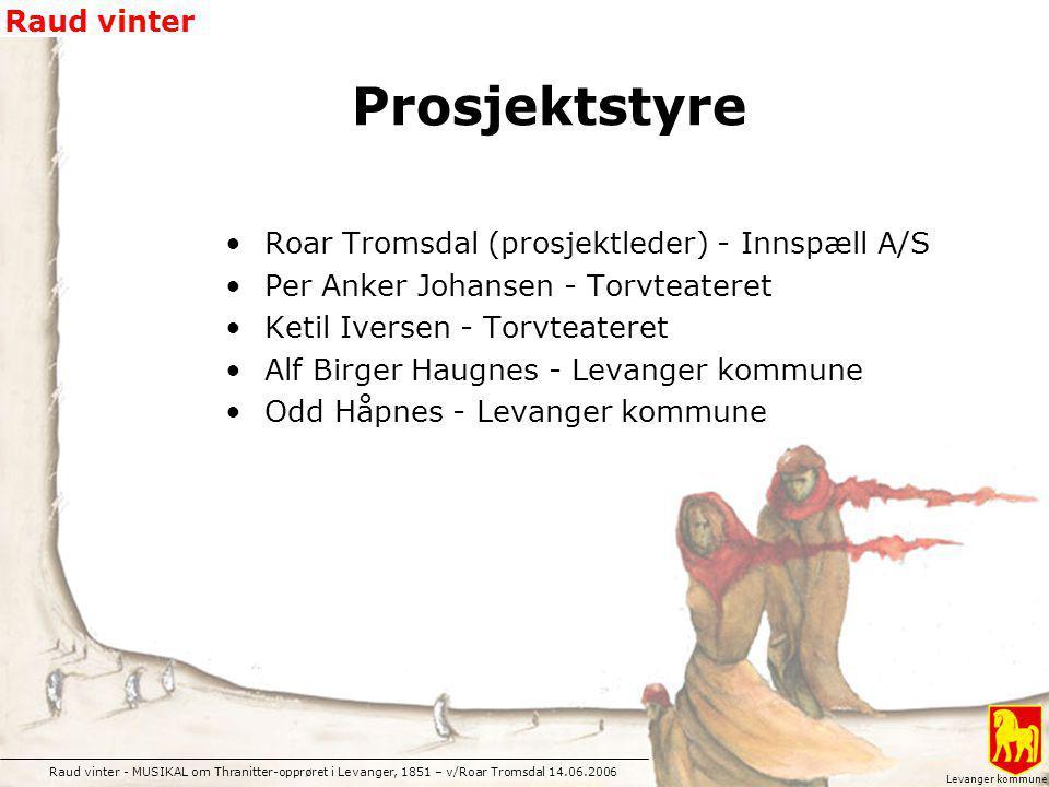 Prosjektstyre Roar Tromsdal (prosjektleder) - Innspæll A/S