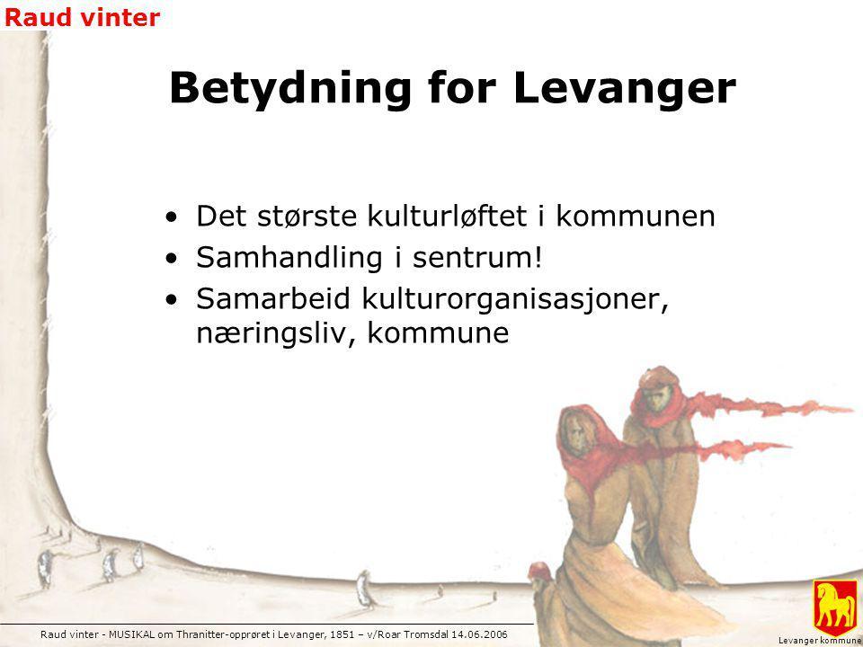 Betydning for Levanger