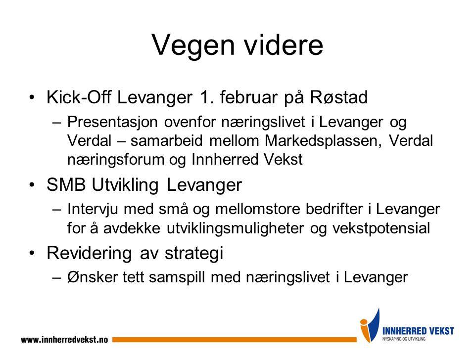 Vegen videre Kick-Off Levanger 1. februar på Røstad