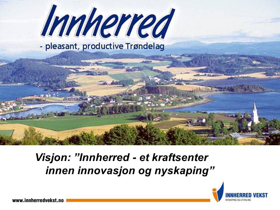 Visjon: Innherred - et kraftsenter innen innovasjon og nyskaping