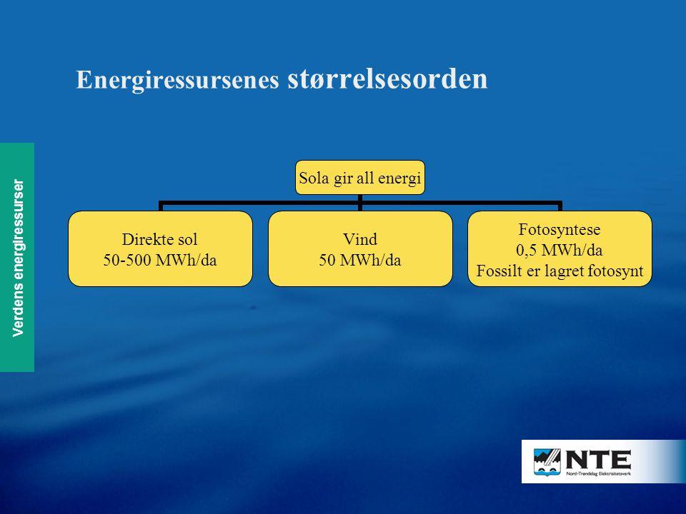 Energiressursenes størrelsesorden