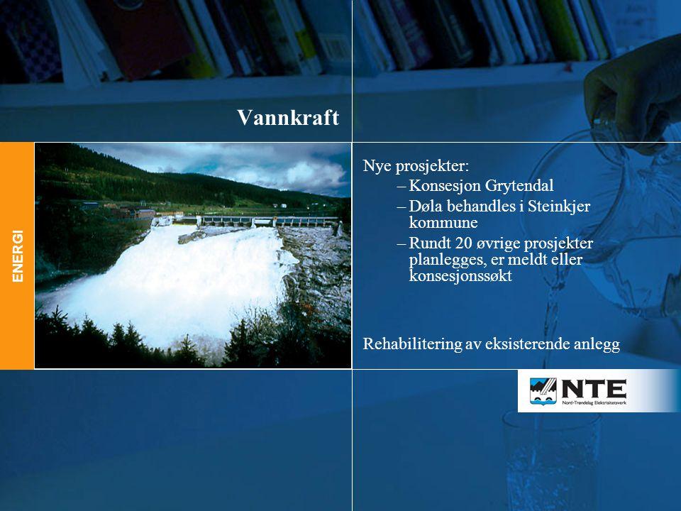 Vannkraft Nye prosjekter: Konsesjon Grytendal