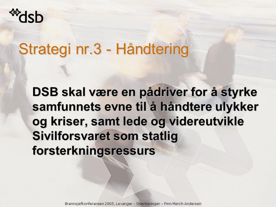 Strategi nr.3 - Håndtering