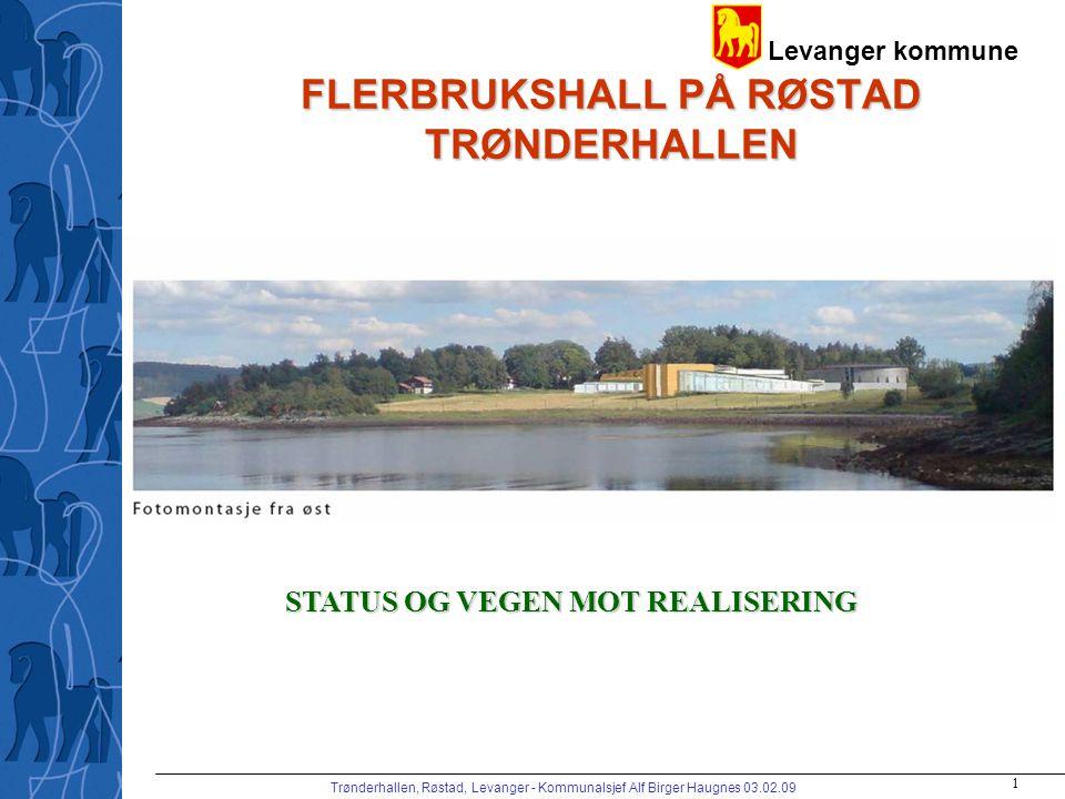 FLERBRUKSHALL PÅ RØSTAD TRØNDERHALLEN