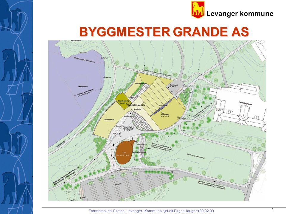 BYGGMESTER GRANDE AS Trønderhallen, Røstad, Levanger - Kommunalsjef Alf Birger Haugnes 03.02.09
