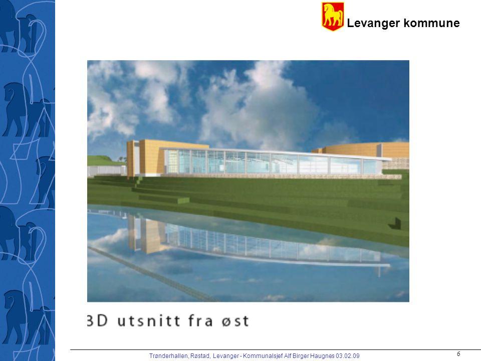 Trønderhallen, Røstad, Levanger - Kommunalsjef Alf Birger Haugnes 03