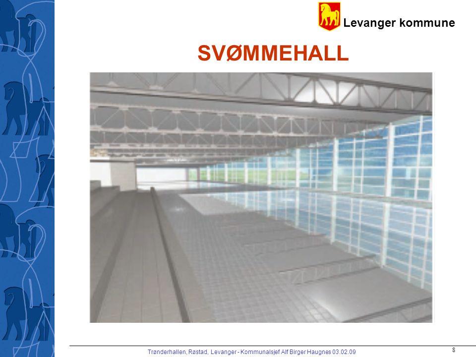 SVØMMEHALL Trønderhallen, Røstad, Levanger - Kommunalsjef Alf Birger Haugnes 03.02.09
