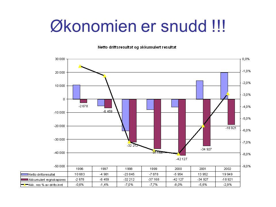 Økonomien er snudd !!!