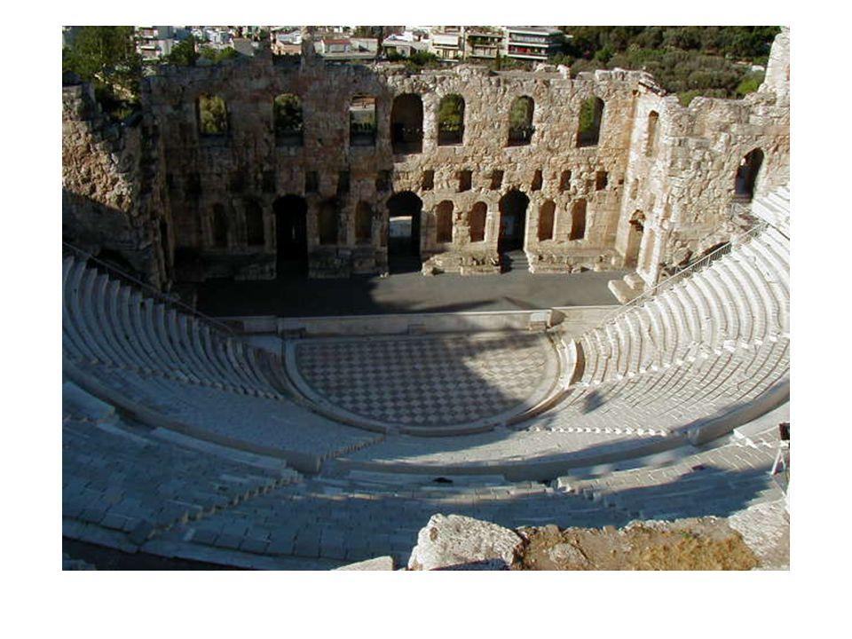 Teateret i Athen. Teatertradisjonen fra ca. 550 f.kr. Til ære for Dionysios.