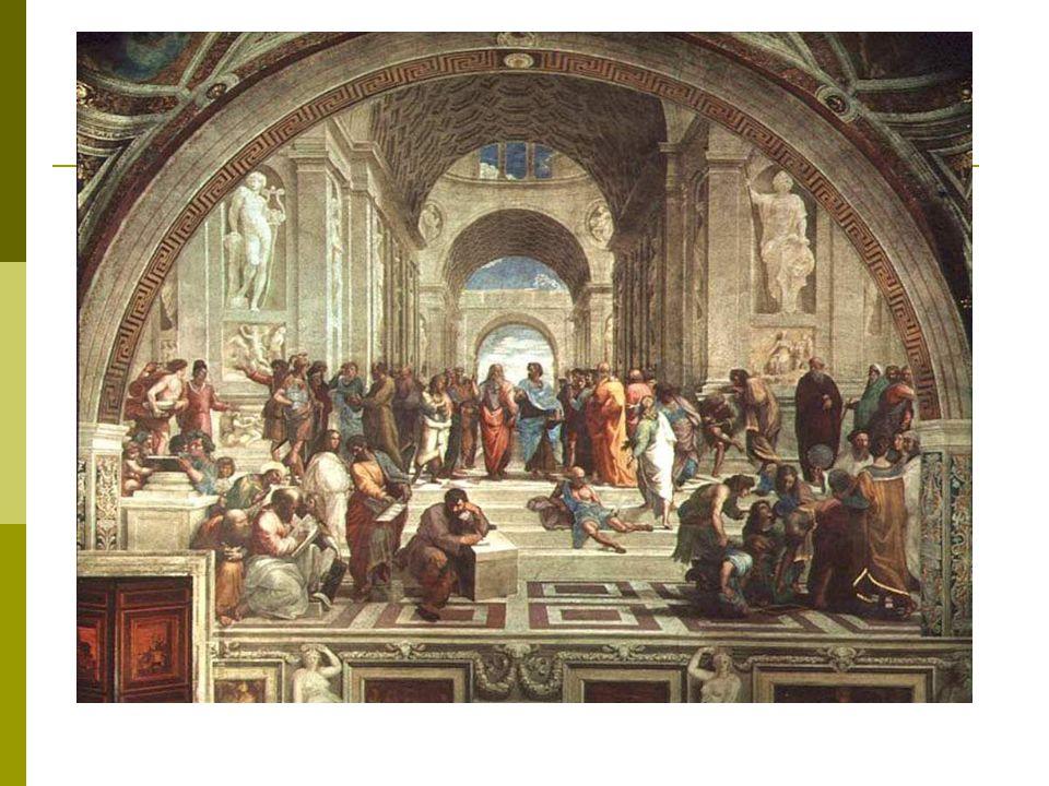 Rafael. Den Athenske skolen malt i 1509. Vatikanstaten