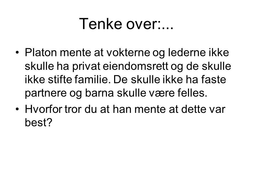Tenke over:...