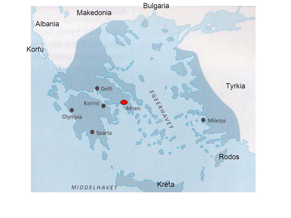 Bulgaria Makedonia Albania Korfu Tyrkia Rodos Kreta