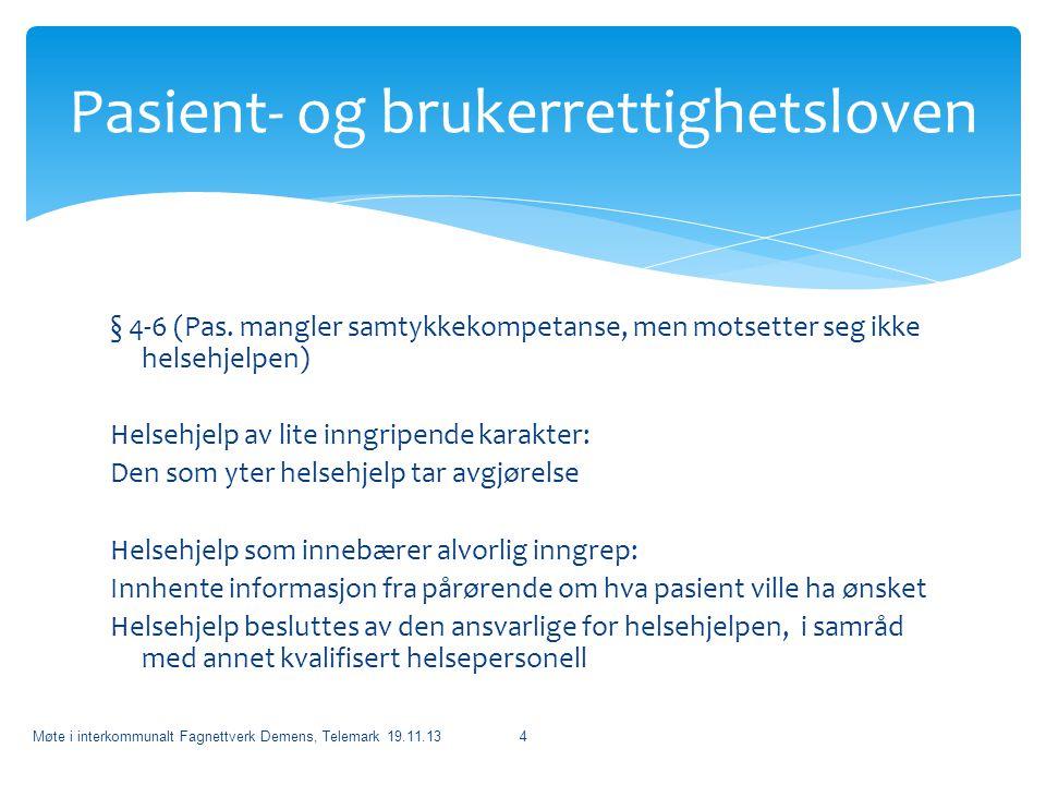Pasient- og brukerrettighetsloven