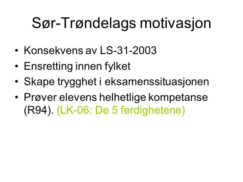 Sør-Trøndelags motivasjon
