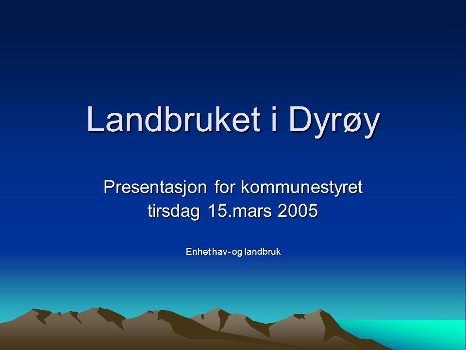 Presentasjon for kommunestyret