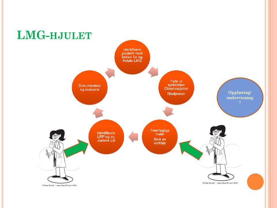 LMG-hjulet Opplæring/ undervisning