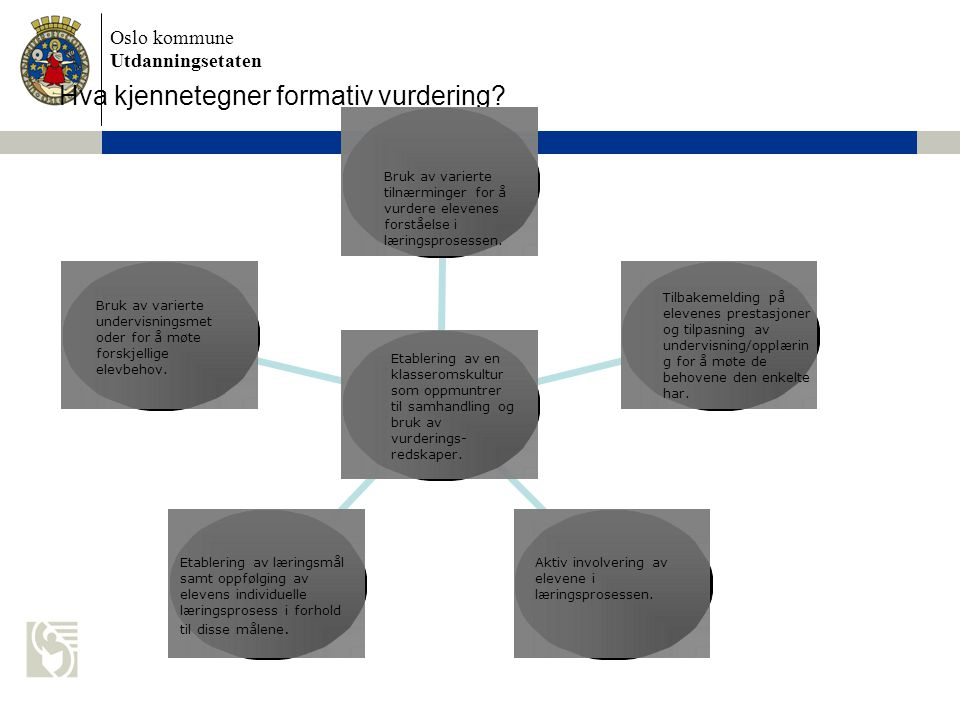 Hva kjennetegner formativ vurdering