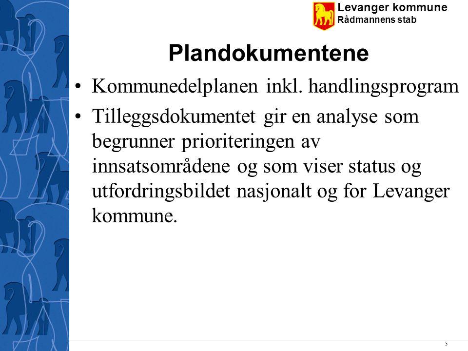 Plandokumentene Kommunedelplanen inkl. handlingsprogram