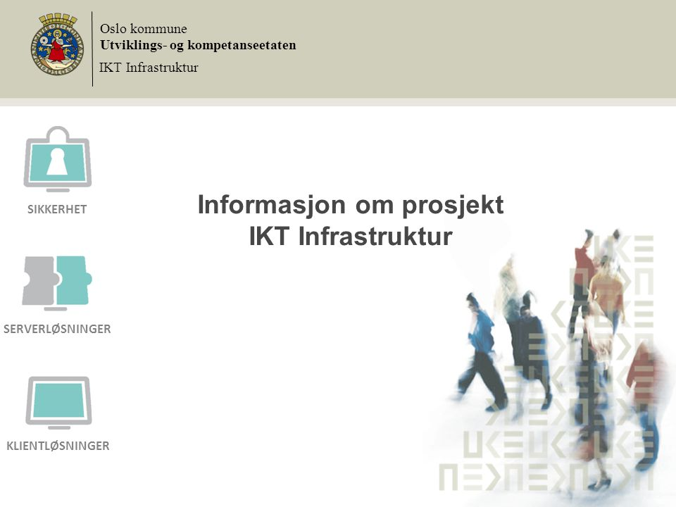 Informasjon om prosjekt