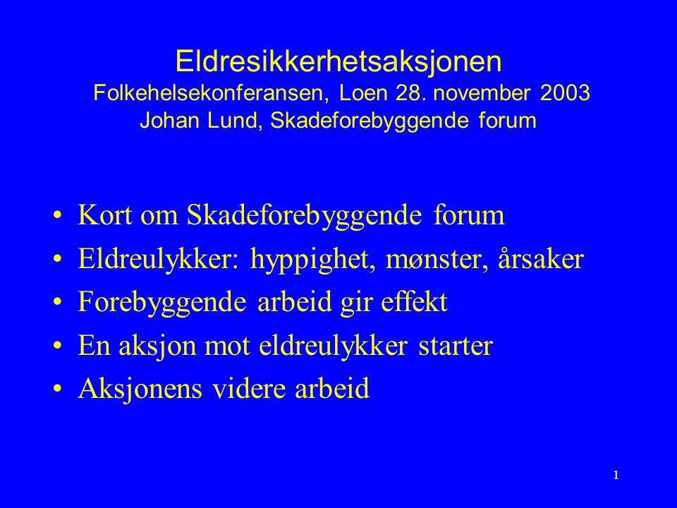 Eldresikkerhetsaksjonen Folkehelsekonferansen, Loen 28