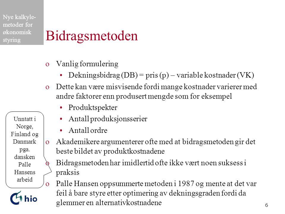 Unntatt i Norge, Finland og Danmark pga. dansken Palle Hansens arbeid