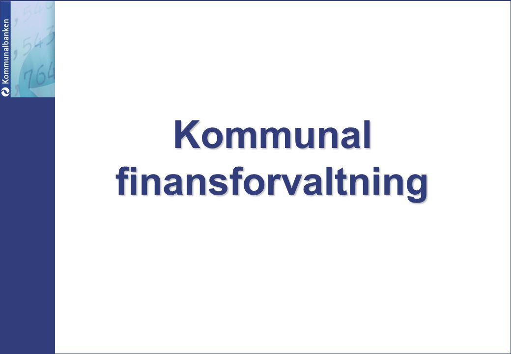 Kommunal finansforvaltning