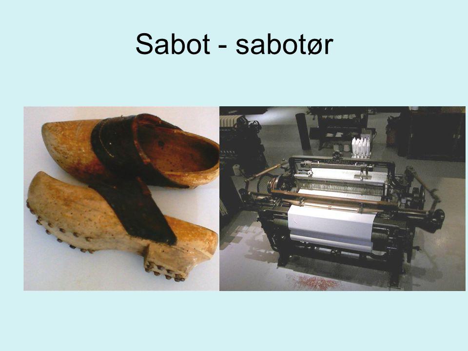 Sabot - sabotør