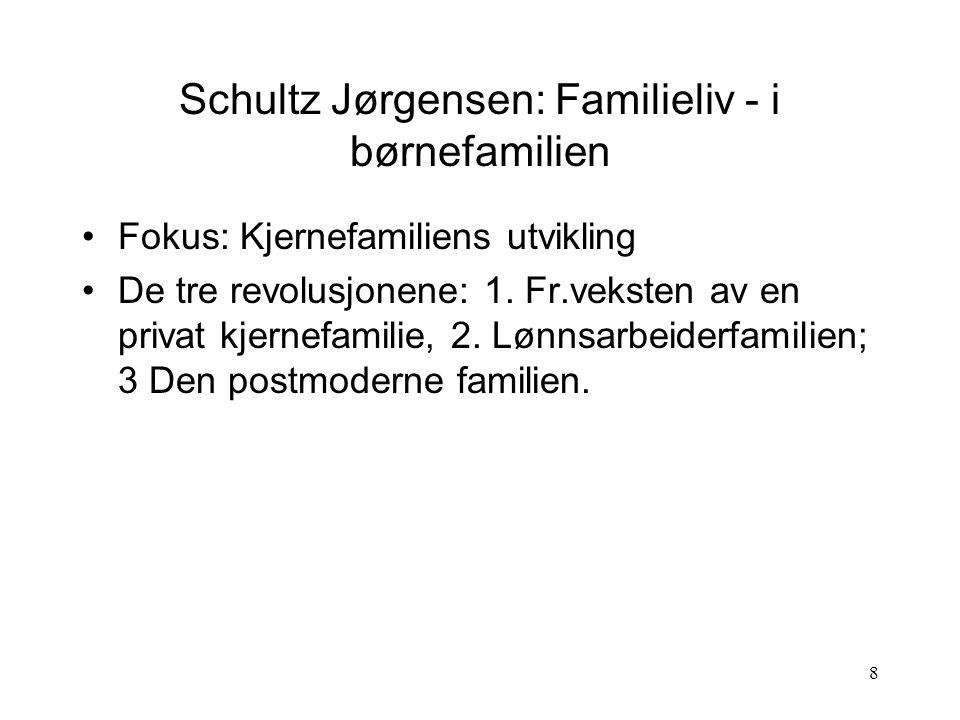 Schultz Jørgensen: Familieliv - i børnefamilien