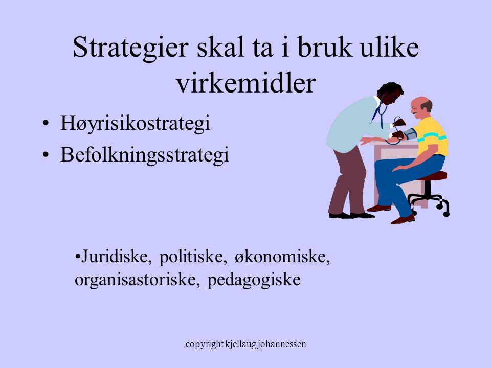 Strategier skal ta i bruk ulike virkemidler