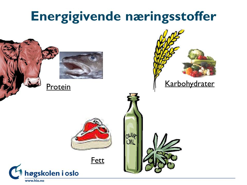 Energigivende næringsstoffer