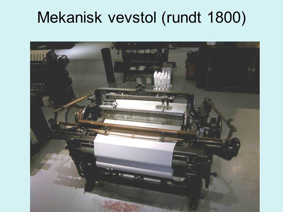 Mekanisk vevstol (rundt 1800)