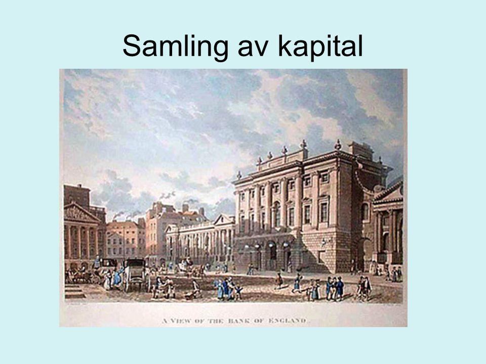 Samling av kapital