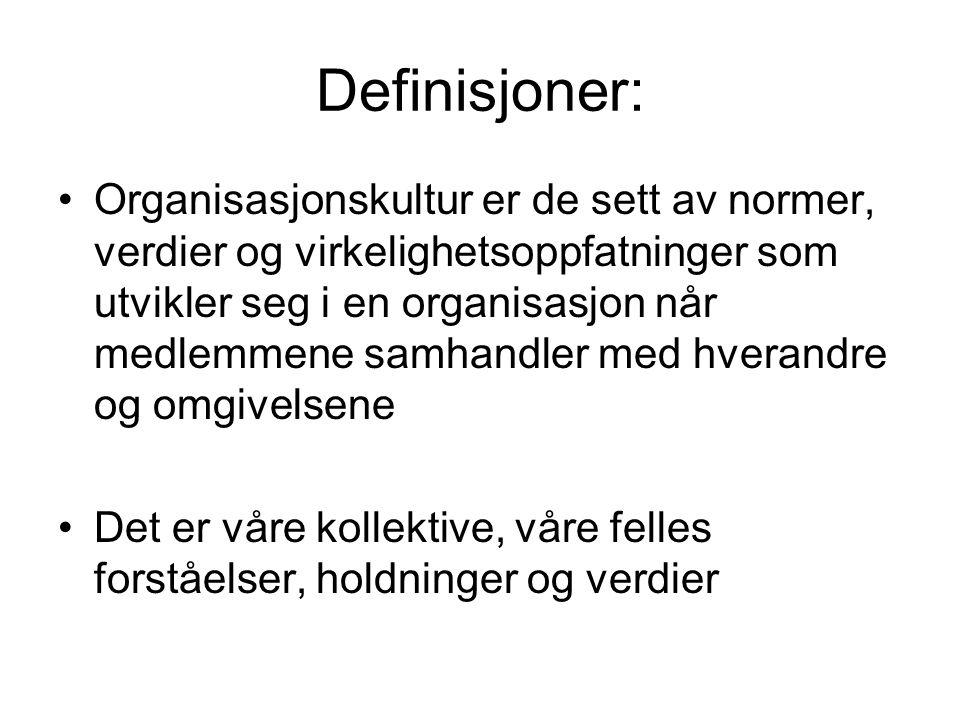 Definisjoner: