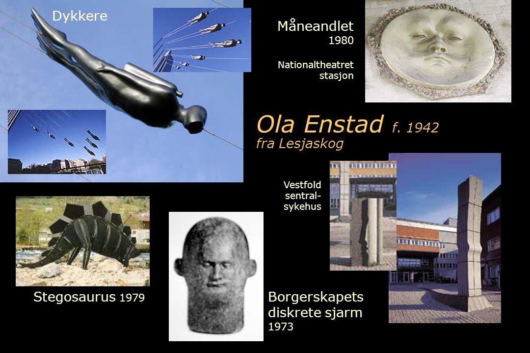 Ola Enstad f. 1942 fra Lesjaskog